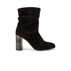 Free People Dakota Slouchy Suede Stack Heel Boots